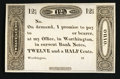 Obsoletes By State:Ohio, Worthington, OH - Ezra Griswold 12-1/2¢ 18__ Wolka 2875-06Remainder. ...