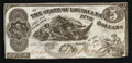Obsoletes By State:Louisiana, Baton Rouge, LA - The State of Louisiana $5 Oct. 10, 1862 Cr. 10. ...