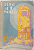 Books:Science Fiction & Fantasy, George Brydges Rodney. Edge of the World. Duffield and Green, [1931]. First edition. Publisher's cloth and dust jack...