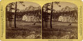 Western Expansion:Goldrush, Stereoview Golden Park (Harney's Peak) Black Hills South Dakota ca 1890s....