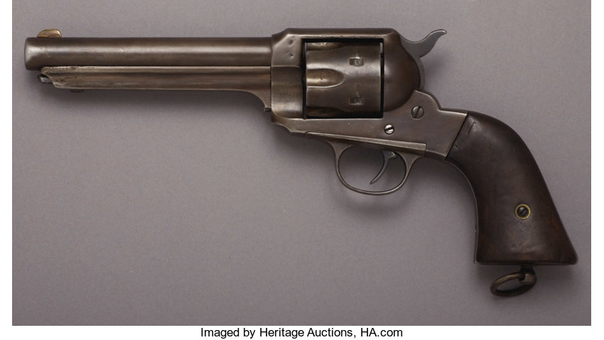 REMINGTON MODEL 1875 SINGLE ACTION REVOLVER - Serial Number