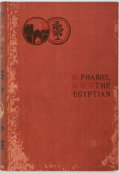 Books:Horror & Supernatural, Guy Boothby. Pharos, the Egyptian. New York: D. Appleton,1899. First American edition. Publisher's cloth, no dust j...