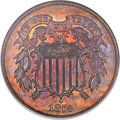 Proof Two Cent Pieces, 1873 2C Closed 3 PR66 Red and Brown NGC....