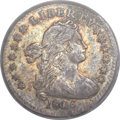 Early Half Dimes, 1803 H10C Large 8 AU50 PCGS. V-1, LM-2, R.4....