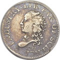 Early Half Dimes, 1792 H10C Half Disme, Judd-7, Pollock-7, R.4 -- Scratched, Cleaned-- ANACS. Fine 15 Details....