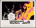 "Movie Posters:Crime, Dirty Harry (Warner Brothers, 1971). Half Sheet (22"" X 28"").Crime.. ..."