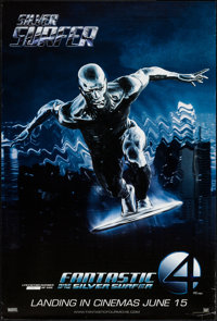 """Fantastic Four: Rise of the Silver Surfer (20th Century Fox, 2007). Limited Edition Numbered One Sheet (27"""" X 40&qu..."""