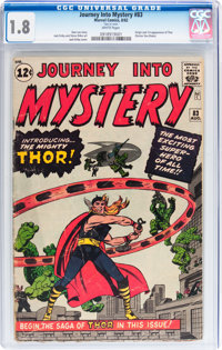 Journey Into Mystery #83 (Marvel, 1962) CGC GD- 1.8 White pages