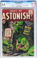 Silver Age (1956-1969):Superhero, Tales to Astonish #27 (Marvel, 1962) CGC GD 2.0 Off-white to white pages....