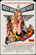 "Movie Posters:Exploitation, Hollywood Boulevard (New World, 1976). One Sheet (27"" X 41"").Exploitation.. ..."