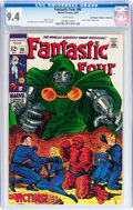 Silver Age (1956-1969):Superhero, Fantastic Four #86 Don/Maggie Thompson Collection pedigree (Marvel, 1969) CGC NM 9.4 White pages....