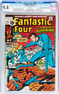 Bronze Age (1970-1979):Superhero, Fantastic Four #115 Don/Maggie Thompson Collection pedigree (Marvel, 1971) CGC NM 9.4 White pages....