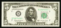 Fr. 1965-B* $5 1950D Federal Reserve Star Note. Choice Crisp Uncirculated