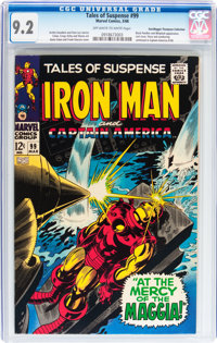 Tales of Suspense #99 Don/Maggie Thompson Collection pedigree (Marvel, 1968) CGC NM- 9.2 Off-white to white pages
