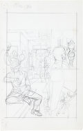"Original Comic Art:Miscellaneous, Gil Kane Forbidden Tales of Dark Mansion #13 Complete 8-pageStory ""The Eavesdropper"" Preliminary Layo... (Total: 8 Items)"