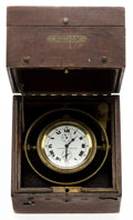 Timepieces:Clocks, Elgin Father Time 21 Jewel Deck Watch With Wind Indicator, circa1918. ...