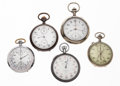 Timepieces:Other , A Lot Of Five Timers. ... (Total: 5 Items)