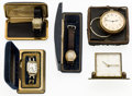 Timepieces:Other , A Lot Of Five Miscellaneous Items. ... (Total: 5 Items)