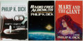 Books:Science Fiction & Fantasy, Philip K. Dick. Three First Editions. Includes: Radio Free Albemuth; Mary and the Giant. New York: Arbor House, [198... (Total: 3 Items)