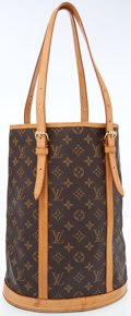 Luxury Accessories:Accessories, Louis Vuitton Classic Monogram Canvas Bucket GM Bag . ...