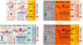 Baseball Collectibles:Tickets, 1960-62 New York Yankees World Series Ticket Stubs Lot of 4. ...