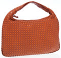 Luxury Accessories:Accessories, Bottega Veneta Rust Intrecciato Leather Classic Hobo Bag . ...