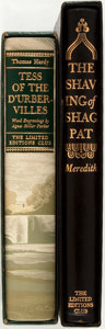 Books:Literature Pre-1900, [Limited Editions Club]. Pair of SIGNED/LIMITED Victorian-EraLiterary Classics. New York: LEC, [1955-1956]. Includes: Georg...(Total: 2 Items)