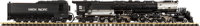 ASTER LIVE STEAM SCALE MODEL UNION PACIFIC 'BIG BOY' LOCOMOTIVE AND TENDER 6-1/4 x 48-1/4 x 4-1/4 inches (15.7 x 1