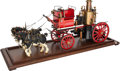 Other, LIVE STEAM SCALE MODEL HISTORIC DUTCH FIRE APPARATUS. 15-1/2 x 35 x10 inches (39.4 x 88.9 x 25.4 cm. Finely engineered and ...