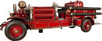 1928 AHRENS-FOX N-S-4 FULLY EQUIPPED FIRE TRUCK Approximate length 24 feet This Ahrens-Fox N-S-4 fire truck wa