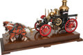 Other:American, LIVE STEAM MODEL AMERICAN LAFRANCE FIRE PUMPER. Length: 37 x 15 x 9inches (94.0 x 38.1 x 22.9 cm). Well engineered and auth...