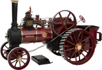 LIVE STEAM SCALE MODEL ALLCHIN 'ROYAL CHESTER' EXHIBITION TRACTION ENGINE 13 x 26 x 8-1/2 inches (33.0 x 66.0 x 21