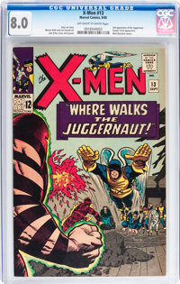 X-Men #13 (Marvel, 1965) CGC VF 8.0 Off-white to white pages