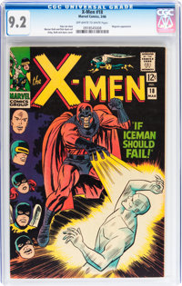X-Men #18 (Marvel, 1966) CGC NM- 9.2 Off-white to white pages