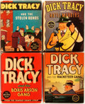 Books:Children's Books, Chester Gould. Group of Four Dick Tracy Big Little Books.Racine: Whitman Publishing, 1934-1937. Small format, 3... (Total: 4Items)