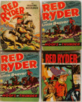 "Books:Children's Books, Fred Harman. Group of Four Red Ryder Books. Racine: WhitmanPublishing, 1939-1943. From the original newspaper strips. 3.5"" ...(Total: 4 Items)"