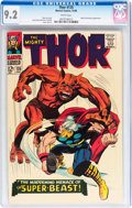Silver Age (1956-1969):Superhero, Thor #135 (Marvel, 1966) CGC NM- 9.2 White pages....