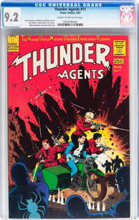 T.H.U.N.D.E.R. Agents #11 (Tower, 1967) CGC NM- 9.2 Cream to off-white pages