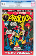 Bronze Age (1970-1979):Horror, Tomb of Dracula #5 (Marvel, 1972) CGC NM+ 9.6 Off-white pages....