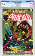 Bronze Age (1970-1979):Horror, Tomb of Dracula #6 (Marvel, 1973) CGC NM+ 9.6 Off-white to whitepages....
