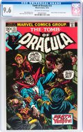Bronze Age (1970-1979):Horror, Tomb of Dracula #13 (Marvel, 1973) CGC NM+ 9.6 Off-white to whitepages....