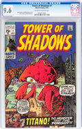 Bronze Age (1970-1979):Horror, Tower of Shadows #7 (Marvel, 1970) CGC NM+ 9.6 Off-white to whitepages....
