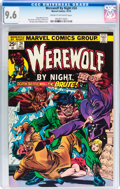 Bronze Age (1970-1979):Horror, Werewolf by Night #24 (Marvel, 1974) CGC NM+ 9.6 Cream to off-whitepages....