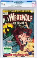 Bronze Age (1970-1979):Horror, Werewolf by Night #35 (Marvel, 1975) CGC NM+ 9.6 Off-white to whitepages....