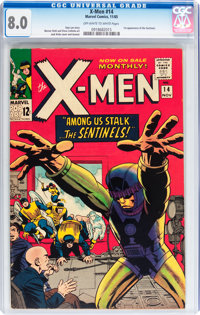 X-Men #14 (Marvel, 1965) CGC VF 8.0 Off-white to white pages