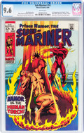 Silver Age (1956-1969):Superhero, The Sub-Mariner #14 (Marvel, 1969) CGC NM+ 9.6 White pages....