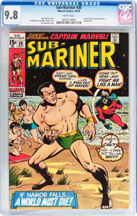 The Sub-Mariner #30 (Marvel, 1970) CGC NM/MT 9.8 White pages