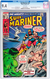 The Sub-Mariner #35 (Marvel, 1971) CGC NM 9.4 White pages