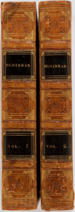 Books:Literature Pre-1900, Samuel Butler. Hudibras. London: Printed by T. Bensley for Vernor and Hood et al., 1799. Two octavo volumes. Contemp... (Total: 2 Items)