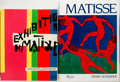 Books:Art & Architecture, Group of Two Books on Henri Matisse. Includes Museum of Modern Art retrospective catalog and Matisse by Pierre Schneider... (Total: 2 Items)